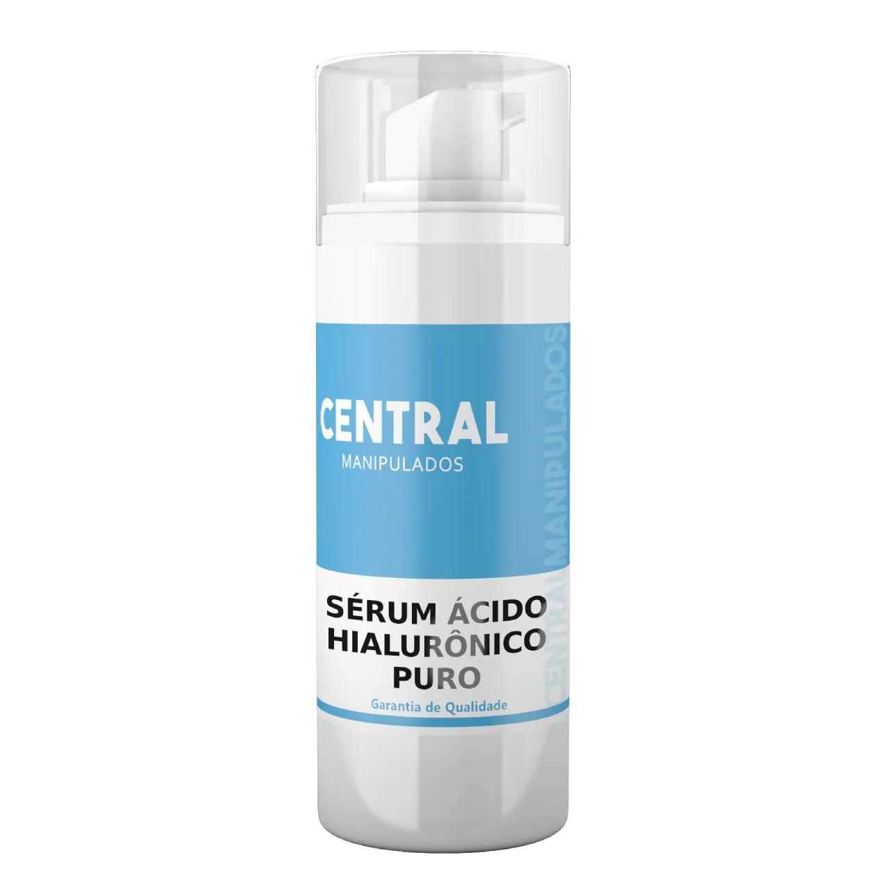 Sérum Ácido Hialurônico 30ml - Diminuição dos sinais do envelhecimento, Hidratação Cutânea