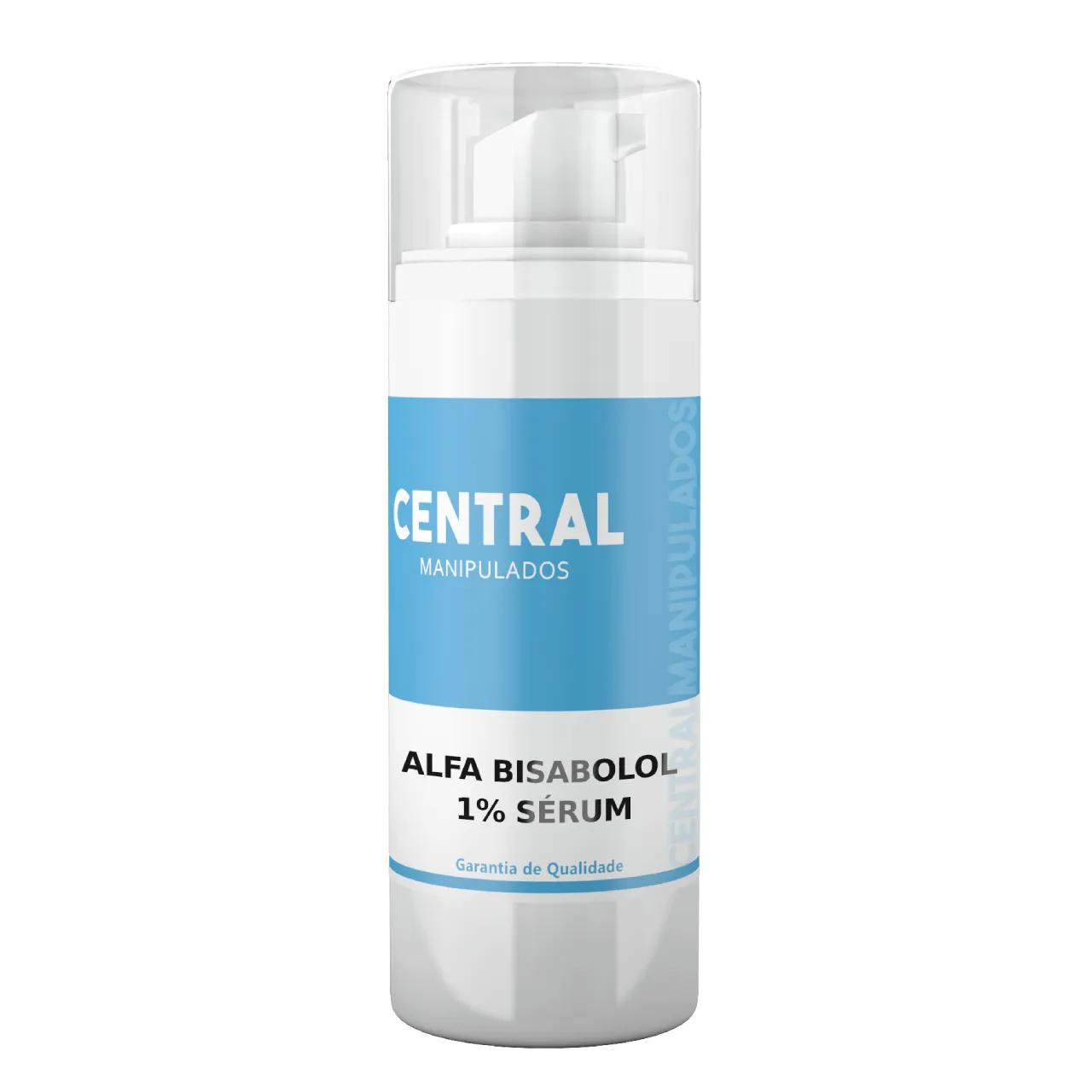 Alfa-Bisabolol 1% Sérum - Anti-inflamatorio para a Pele, Tira as Manchas, Anti-acne, Cicatrizante