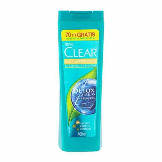 SHAMPOO CLEAR DETOX DIAR L400P330ML