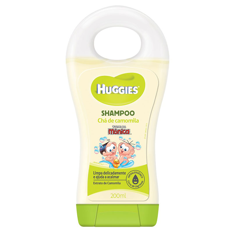 SHAMPOO  HUGGIES CAMOMILA 200ML