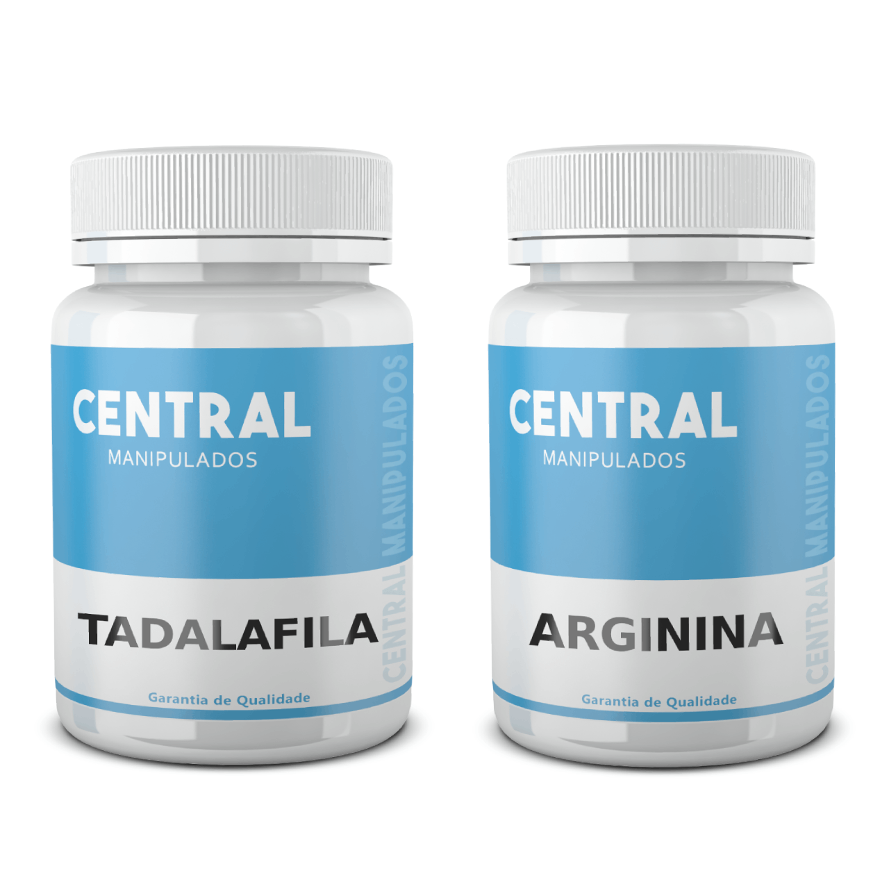 Tadalafila 10mg 120 Cápsulas + Arginina 500mg 120 Cápsulas - Vasodilatador