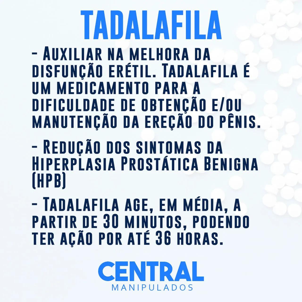 Tadalafila 5mg - 120 cápsulas