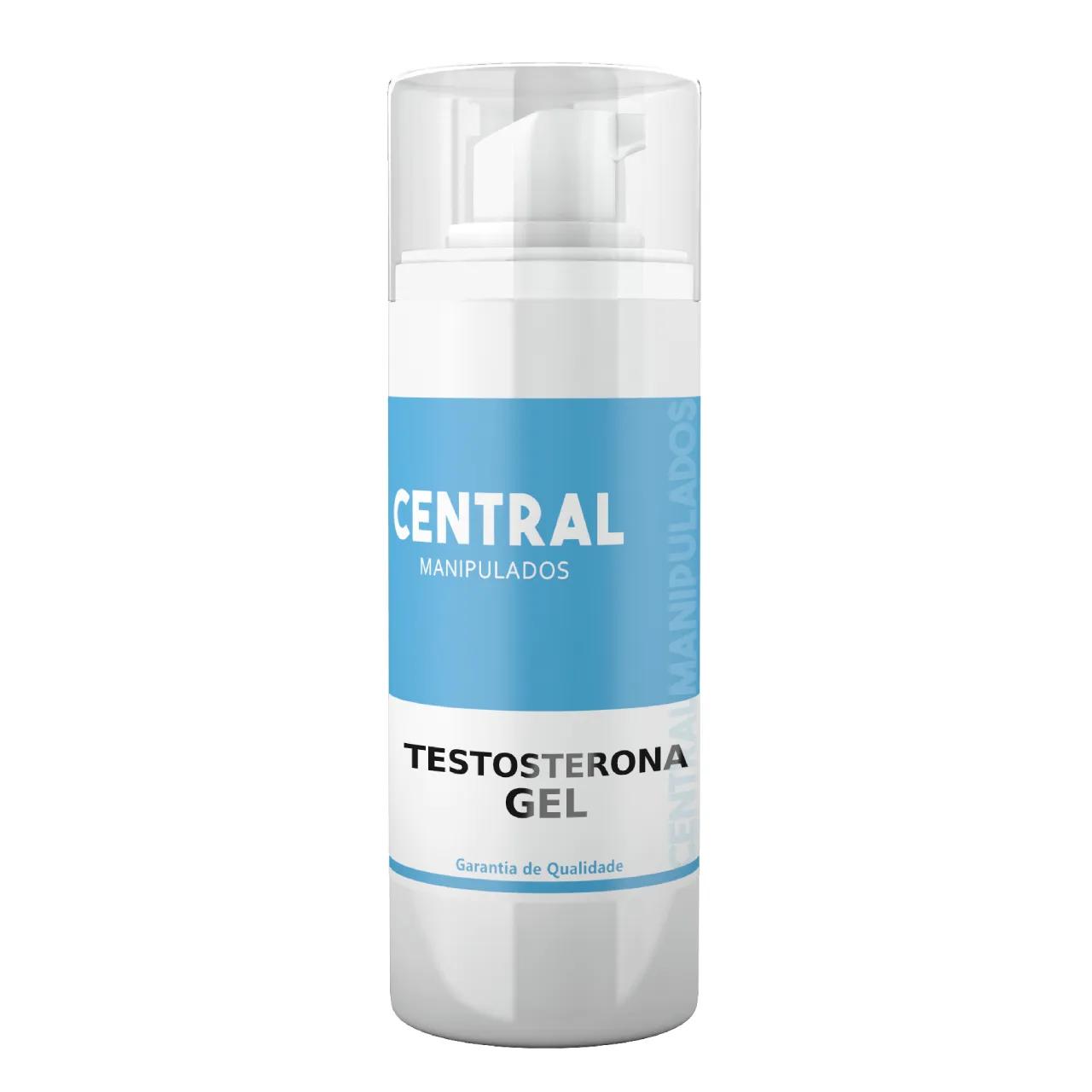 Testosterona em Gel Transdermico 50mg/ml - Frasco com 30ml - Pentravan