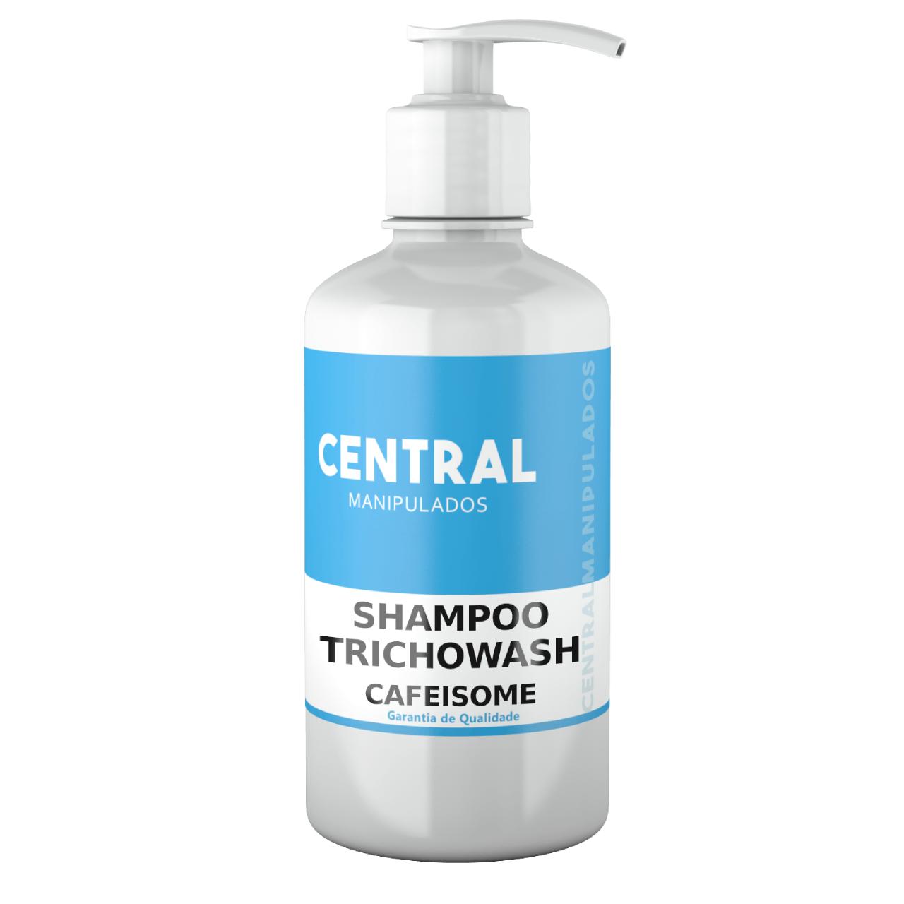 TrichoWash Shampoo com Cafeina 2% (CafeiSome) - 200ml - Tecnologia TrichoConcept da Fragon
