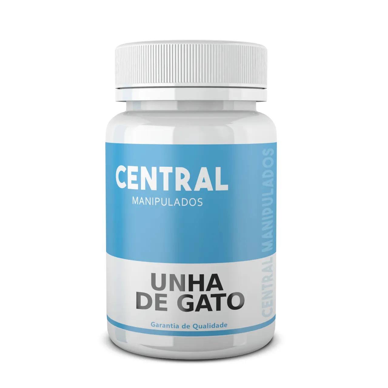 Unha de Gato 500mg - 60 Cápsulas - Reduz a dor da Artrite, Gota, Osteoporose, Reumatismo. Aumenta Imunidade.