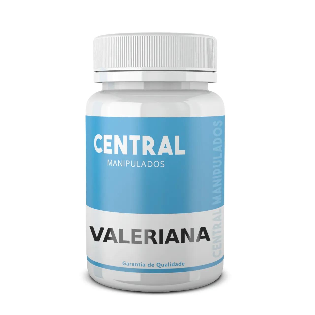 Valeriana 200mg - 180 cápsulas - Alívio dos estados de tensão e estresse, relaxamento saudável, indutor do sono