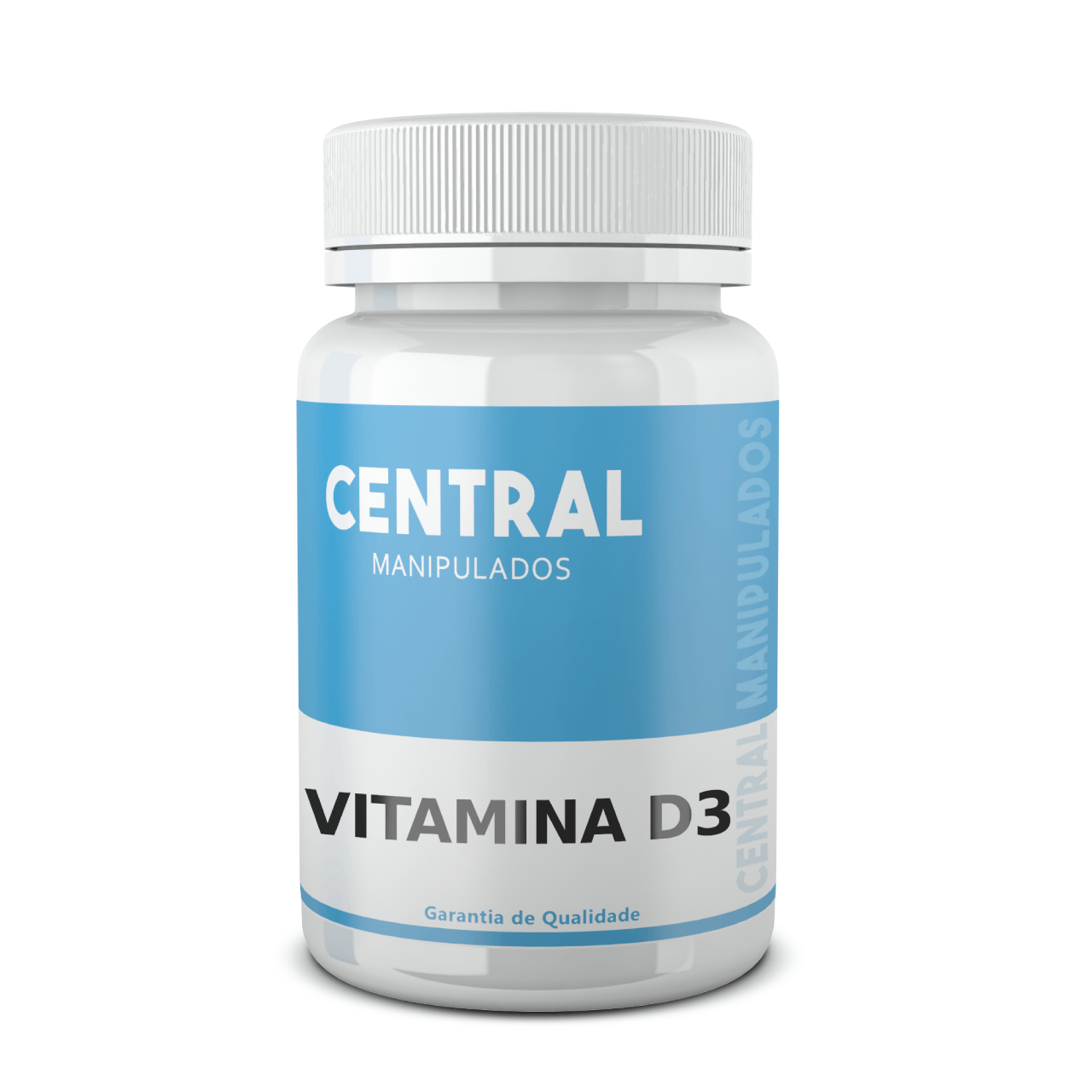 Vitamina D3 2.000 UI - 60 cápsulas - Saúde Óssea e Muscular