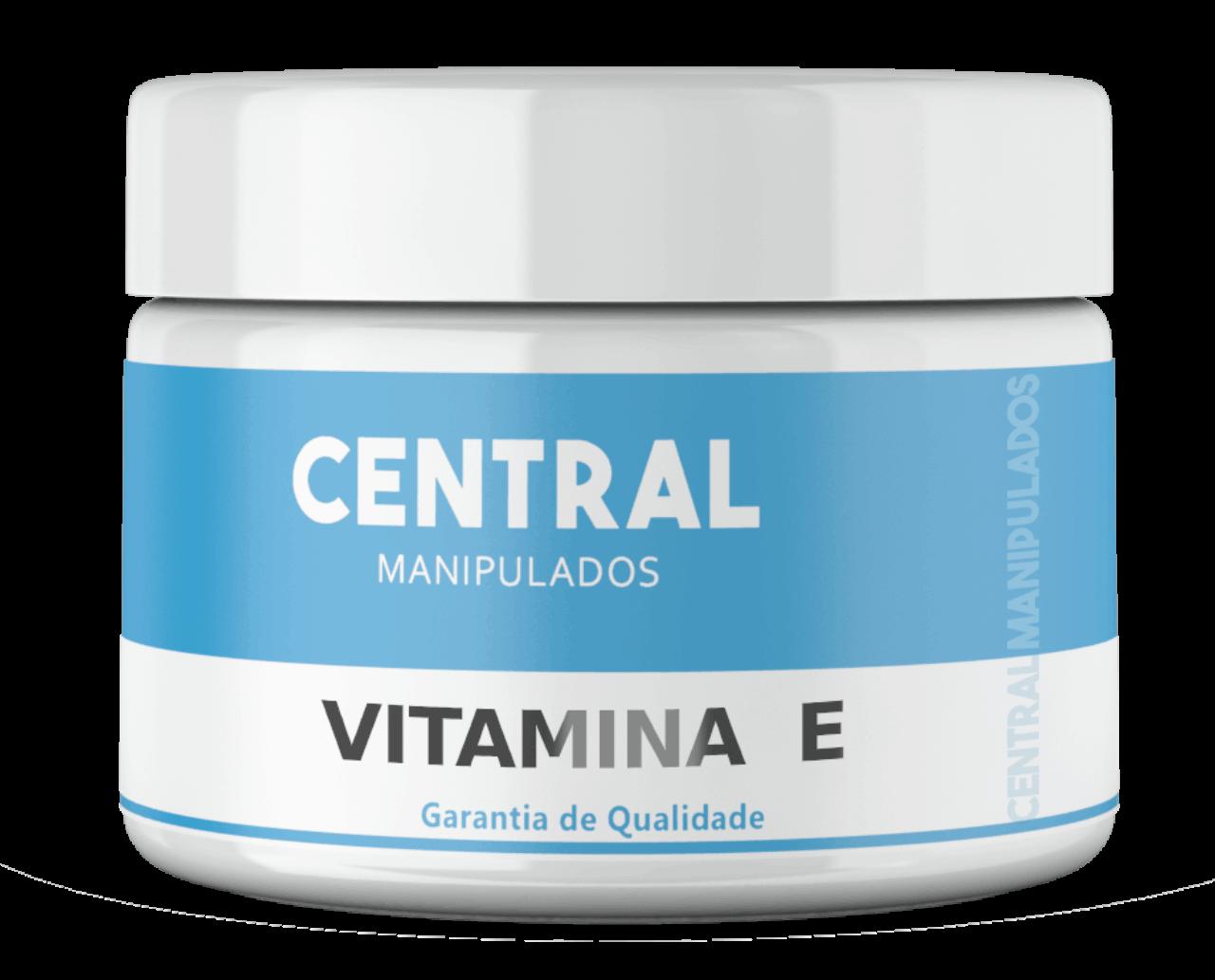 Vitamina E 2% - Creme 100g - Antioxidante para Pele, Anti-envelhecimento celular