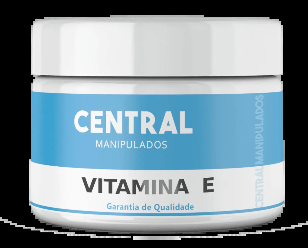 Vitamina E 2% - Creme 60g - Antioxidante para Pele, Anti-envelhecimento celular