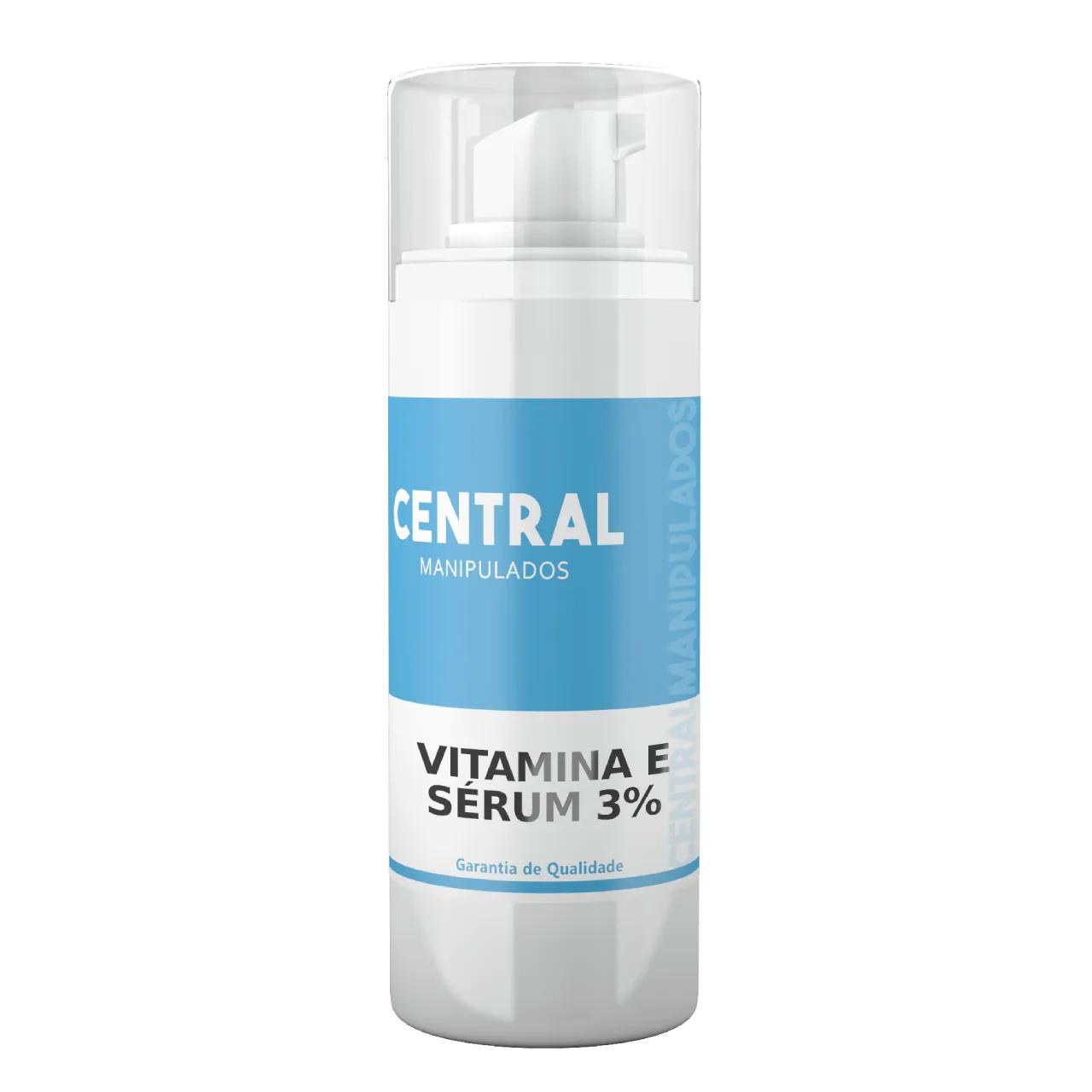 Vitamina E 2% - Sérum 30mL - Antioxidante para Pele, Anti-envelhecimento celular