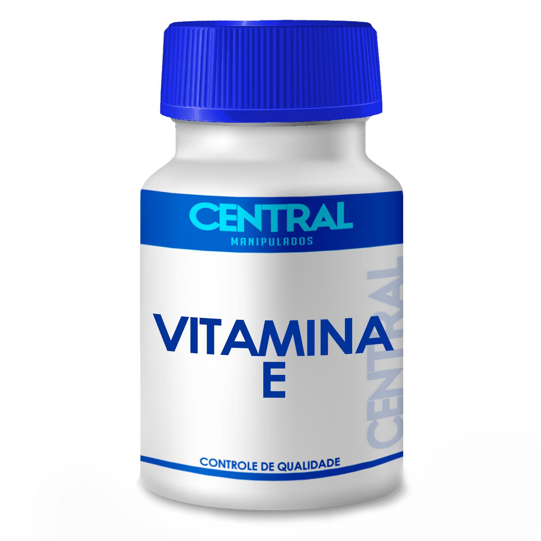Vitamina E 400 UI 30 cápsulas - Poderoso Antioxidante