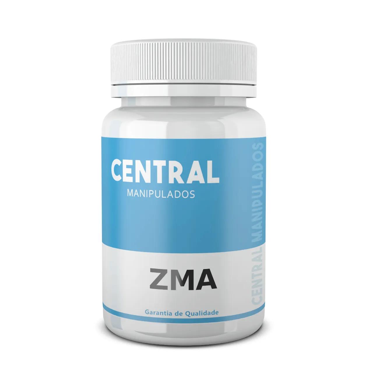 ZMA Formula Optimun - 90 cápsulas - Suplemento de Zinco, Magnésio e Vitamina B6