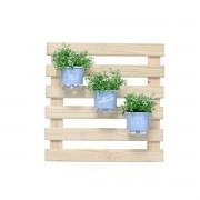 Mini Jardim Vertical 60cm x 60cm Amada Horta Azul Serenity