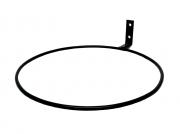 Suporte de Parede Grande Preto para Vaso Autoirrigável RAIZ N04
