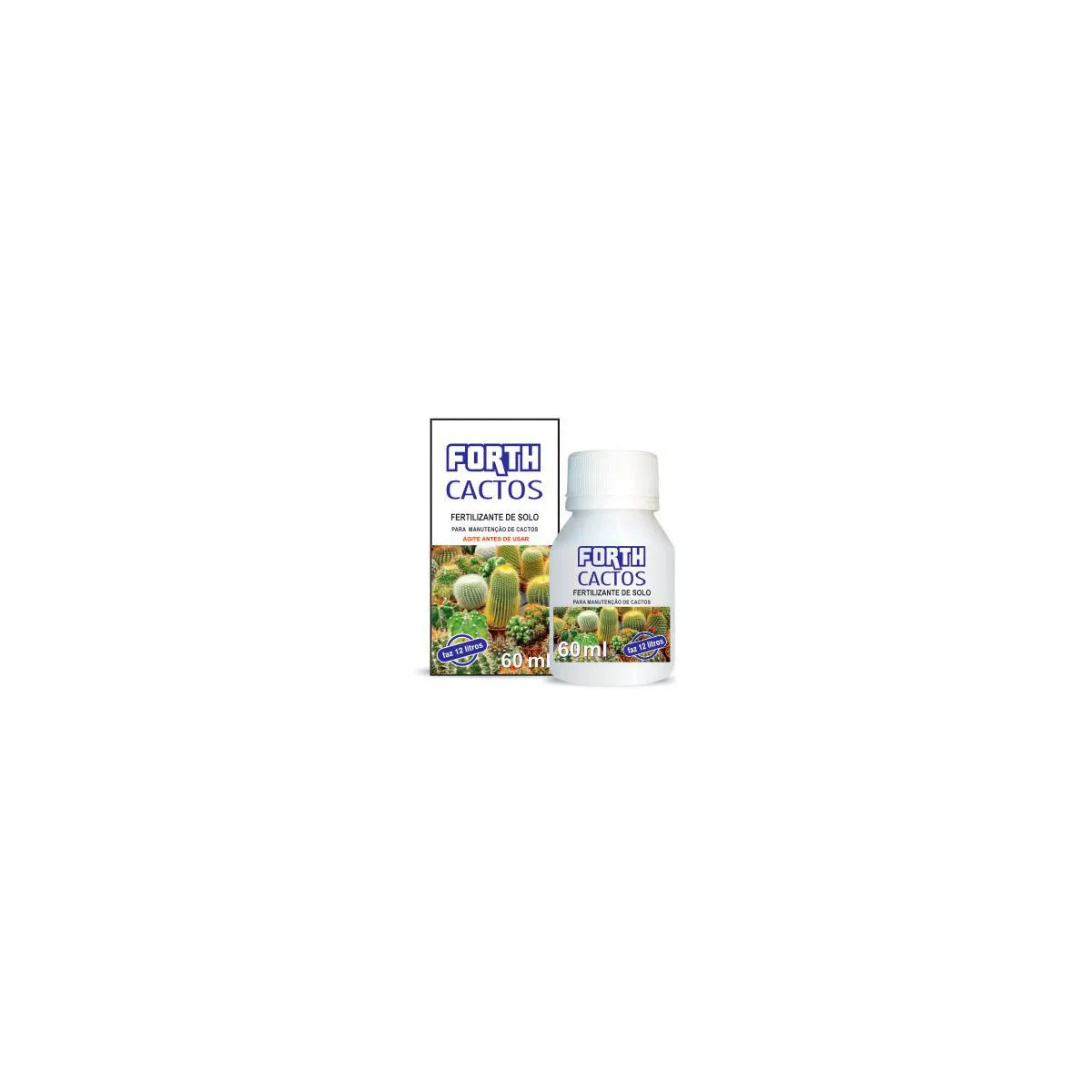Fertilizante Forth Cactos 60ml  - Vasos Raiz Loja Oficial
