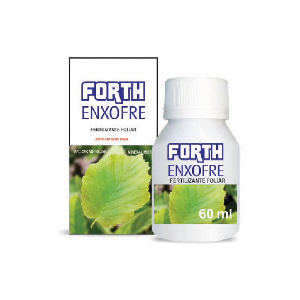 Fertilizante Forth Enxofre 60ml  - Vasos Raiz Loja Oficial