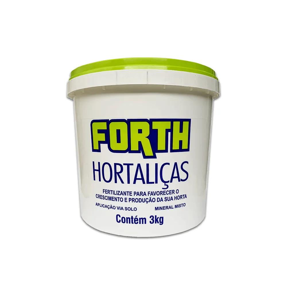 Fertilizante Forth Hortaliças 3kg  - Vasos Raiz Loja Oficial