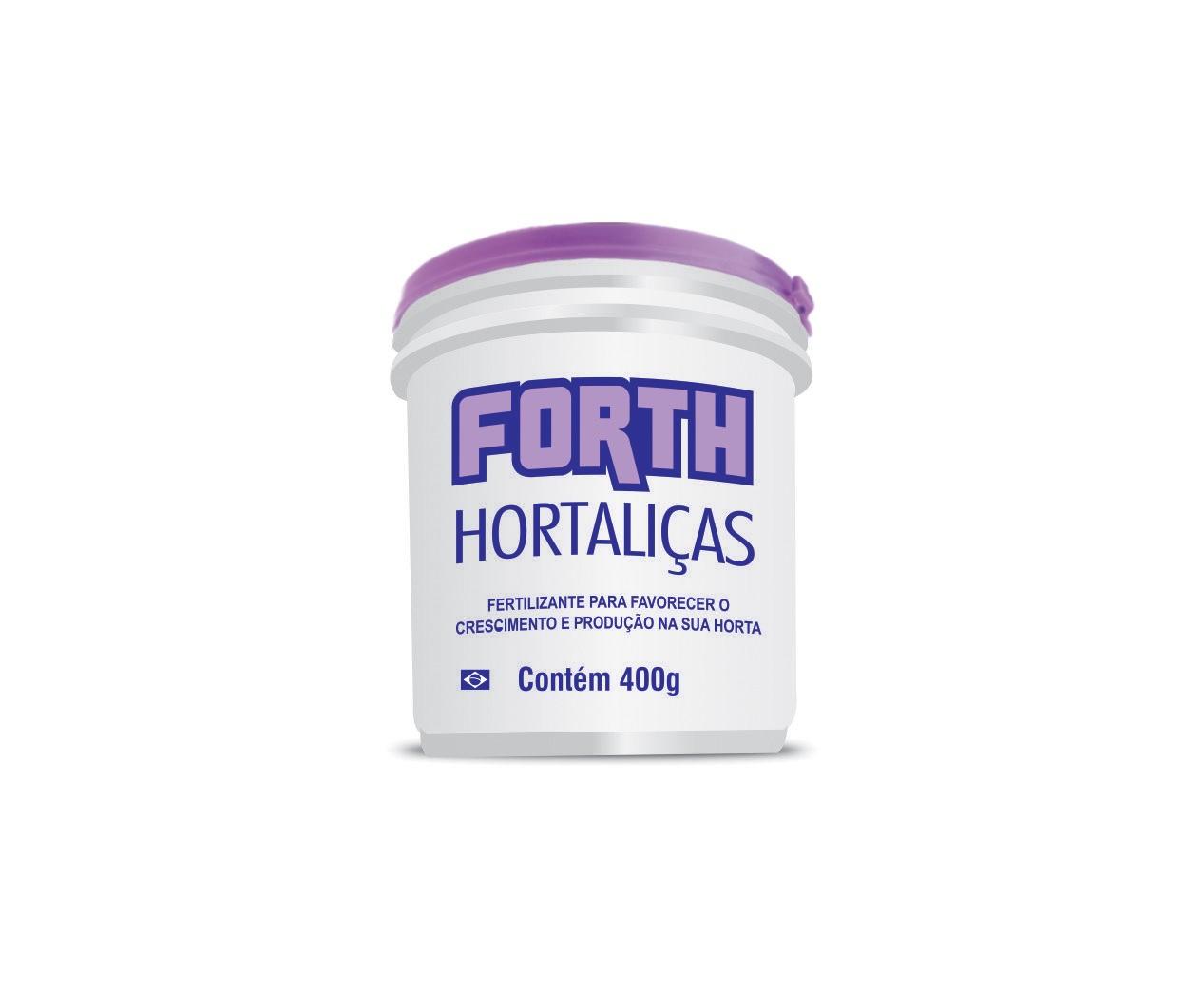Fertilizante Forth Hortaliças 400 gramas  - Loja Raiz