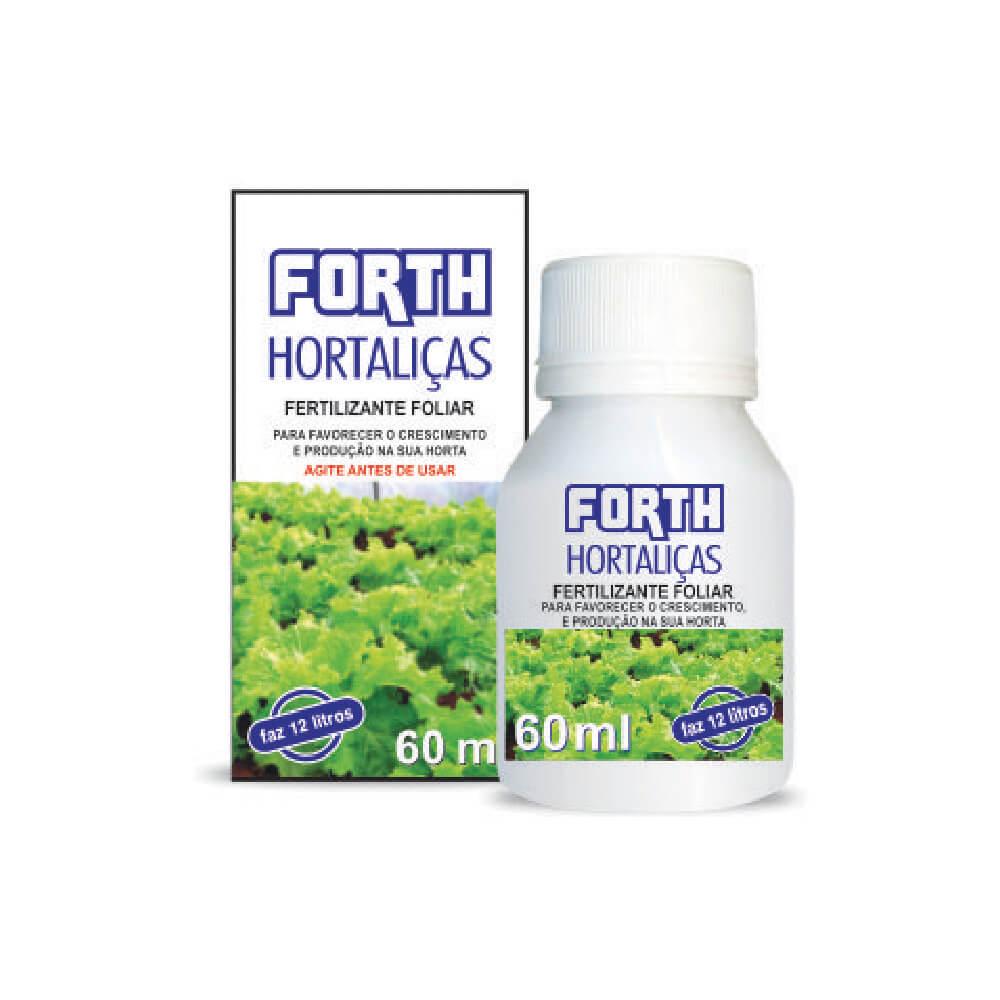 Fertilizante Forth Hortaliças 60ml  - Loja Raiz