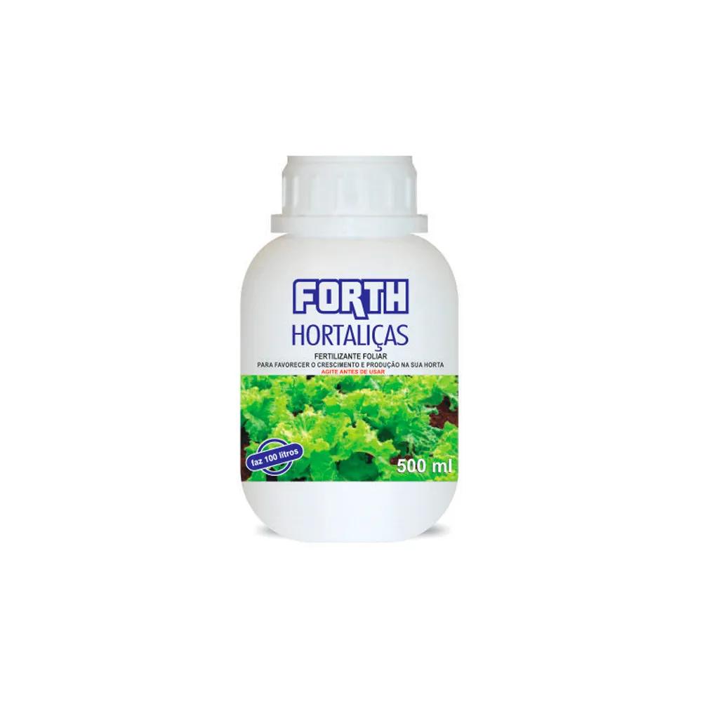 Fertilizante Forth Hortaliças líquido 500ml  - Vasos Raiz Loja Oficial