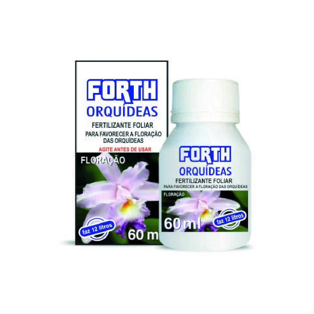 Fertilizante Forth para floração de Orquídeas 60ml  - Loja Raiz