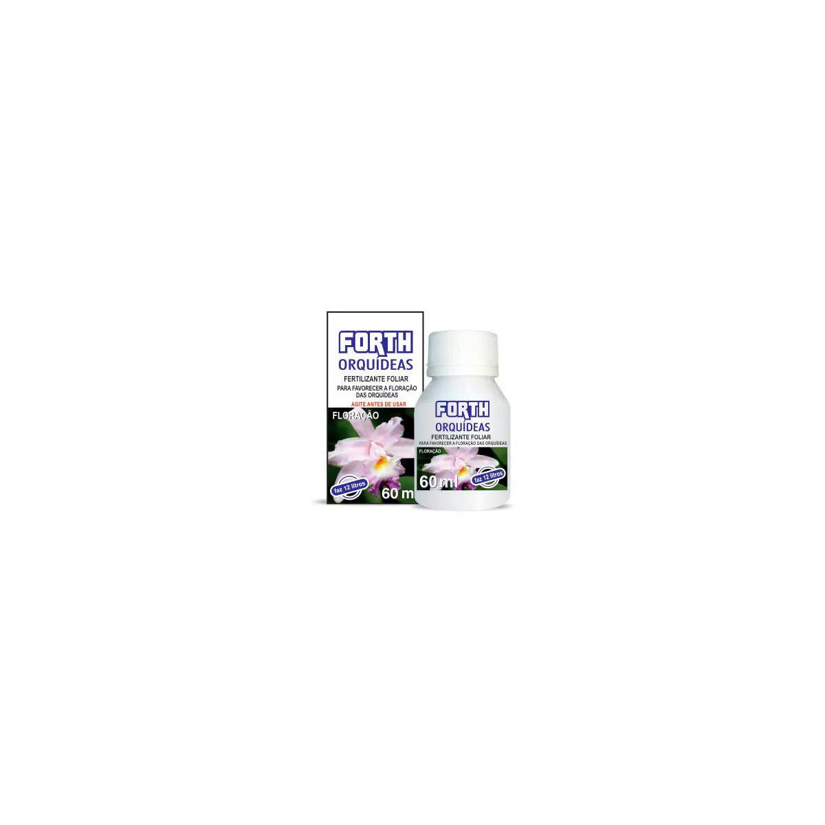 Fertilizante Forth para floração de Orquídeas 60ml  - Vasos Raiz Loja Oficial