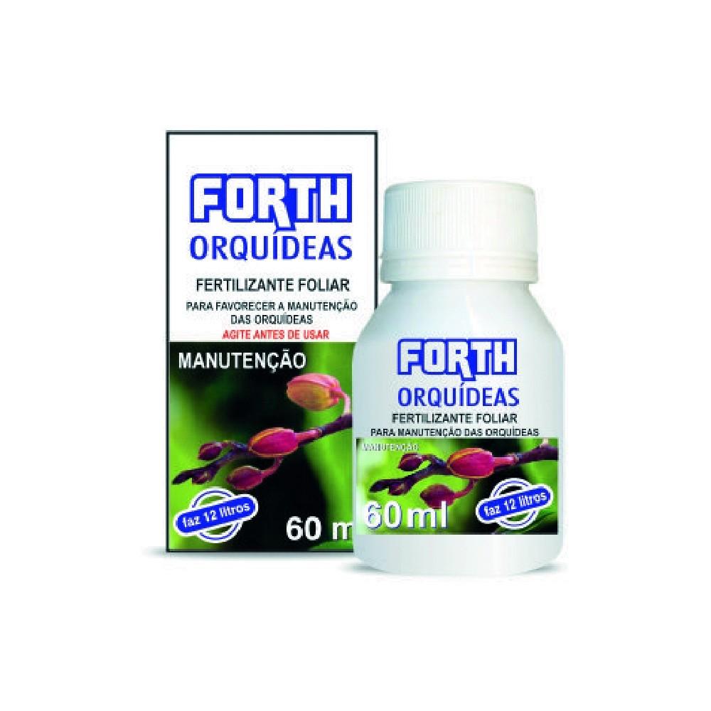 Fertilizante Forth para manutenção de Orquídeas 60ml  - Loja Raiz
