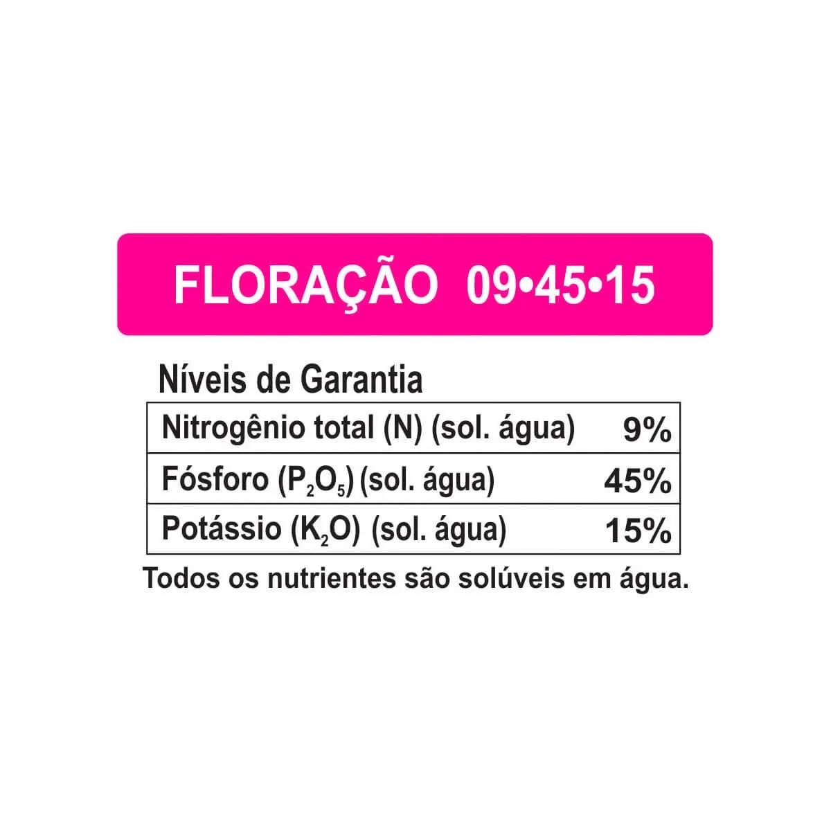 Fertilizante para plantas Forth Floração para Orquídeas 400g  - Vasos Raiz Loja Oficial