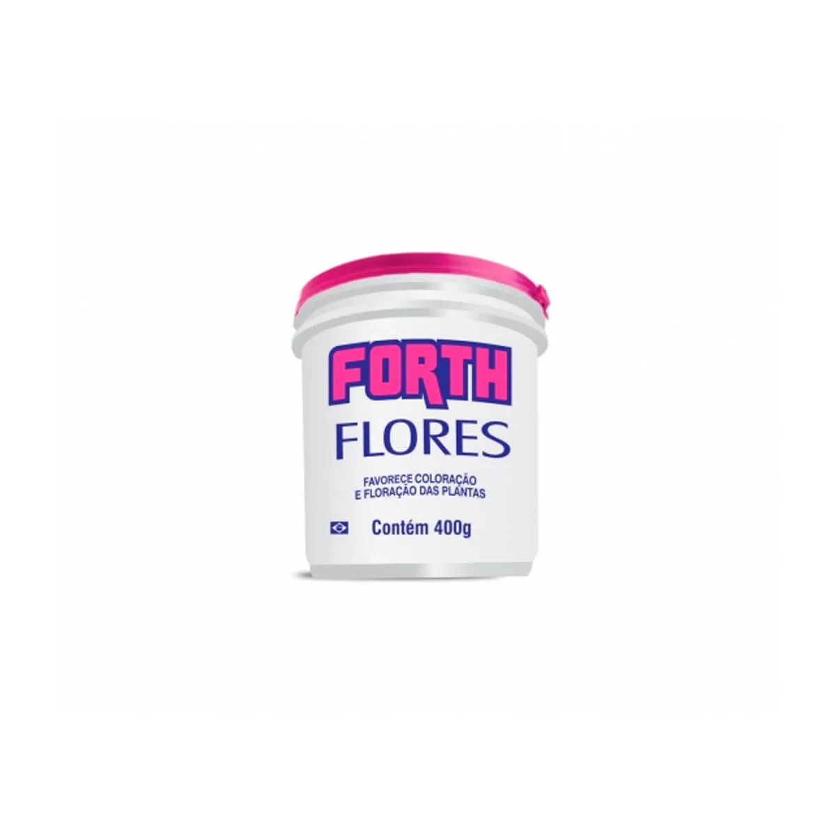 Fertilizante para plantas Forth Flores 400g  - Vasos Raiz Loja Oficial