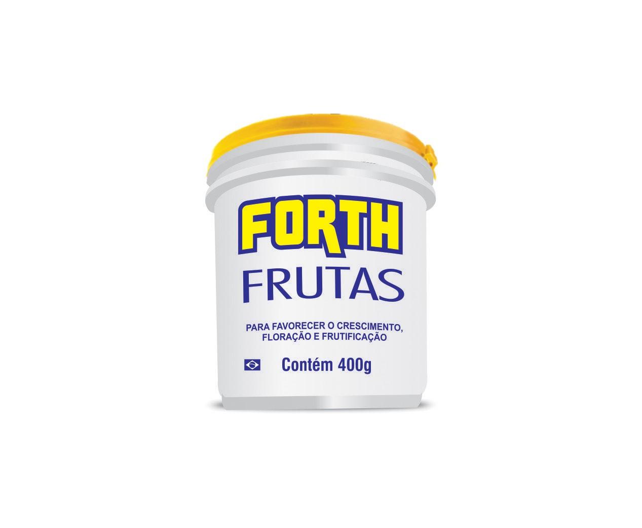 Fertilizante para plantas Forth Frutas 400g  - Vasos Raiz Loja Oficial