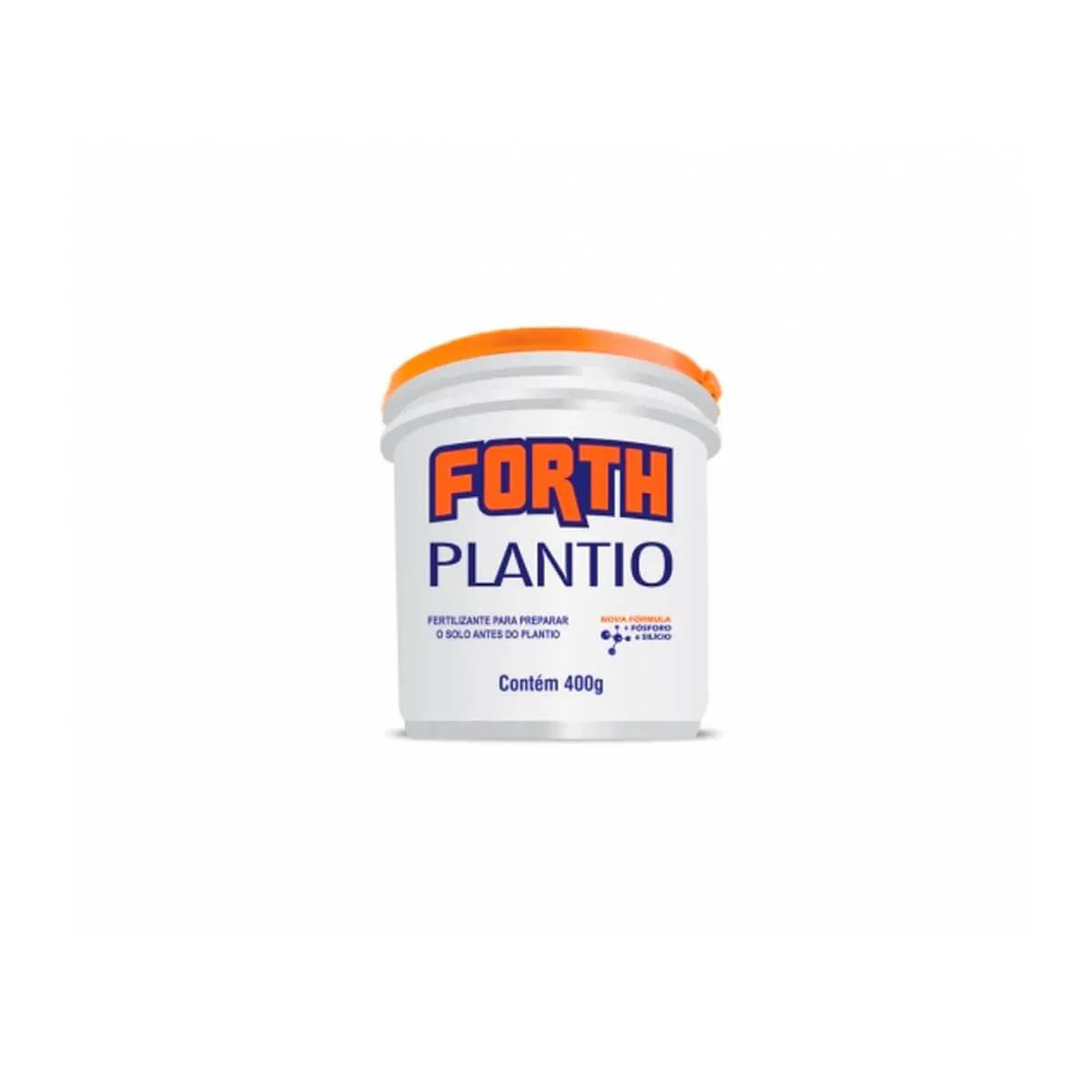 Fertilizante para plantas Forth Plantio 400g  - Vasos Raiz Loja Oficial