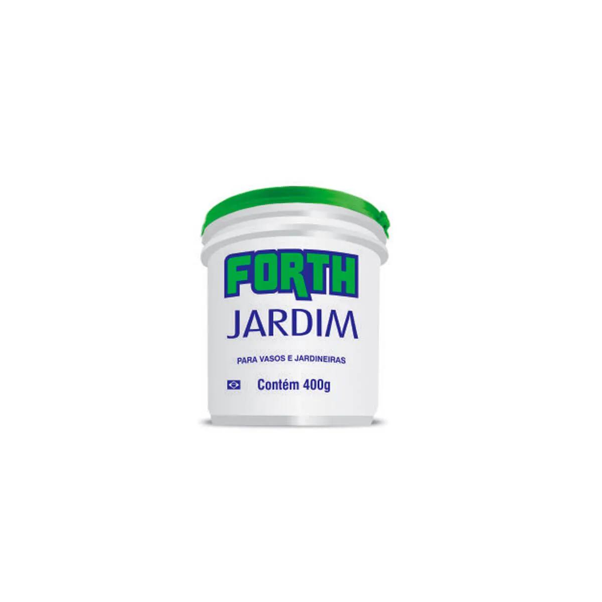 Fertilizante para plantas Forth Jardim 400g  - Vasos Raiz Loja Oficial