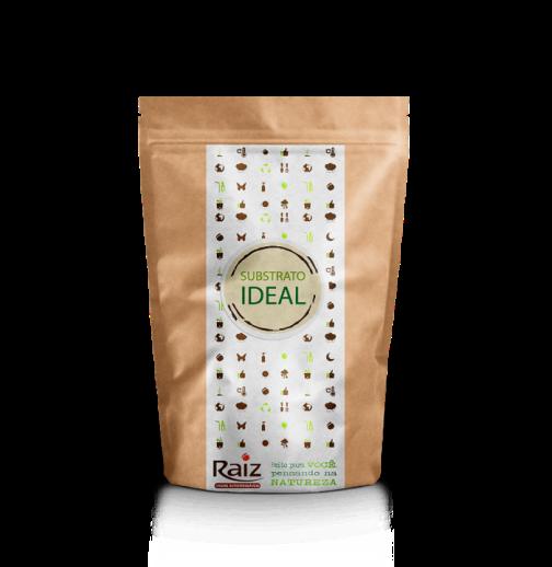 Substrato Pequeno para plantas e sementes - Quantidade ideal para Vaso Médio Raiz