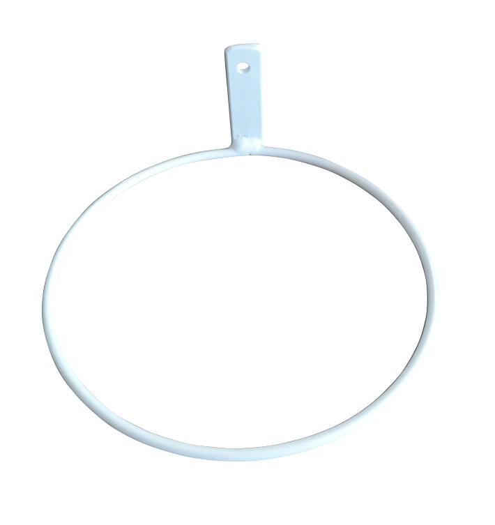 Suporte de Parede Branco para Vaso Autoirrigável Pequeno RAIZ