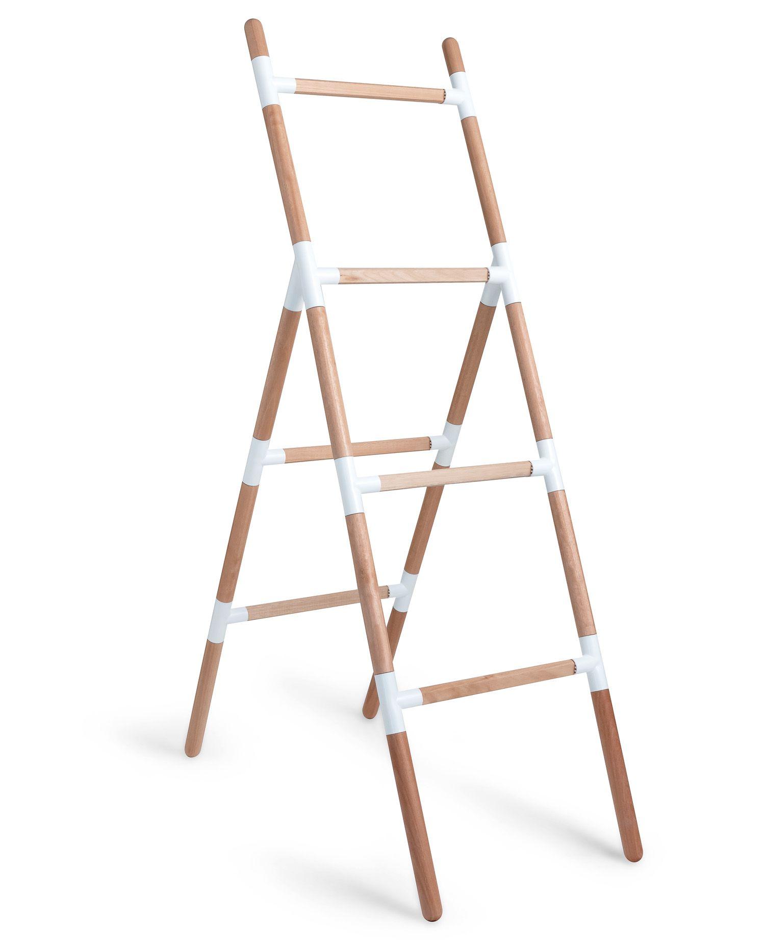 Suporte Escada Eleve Raiz 4 Níveis Branco
