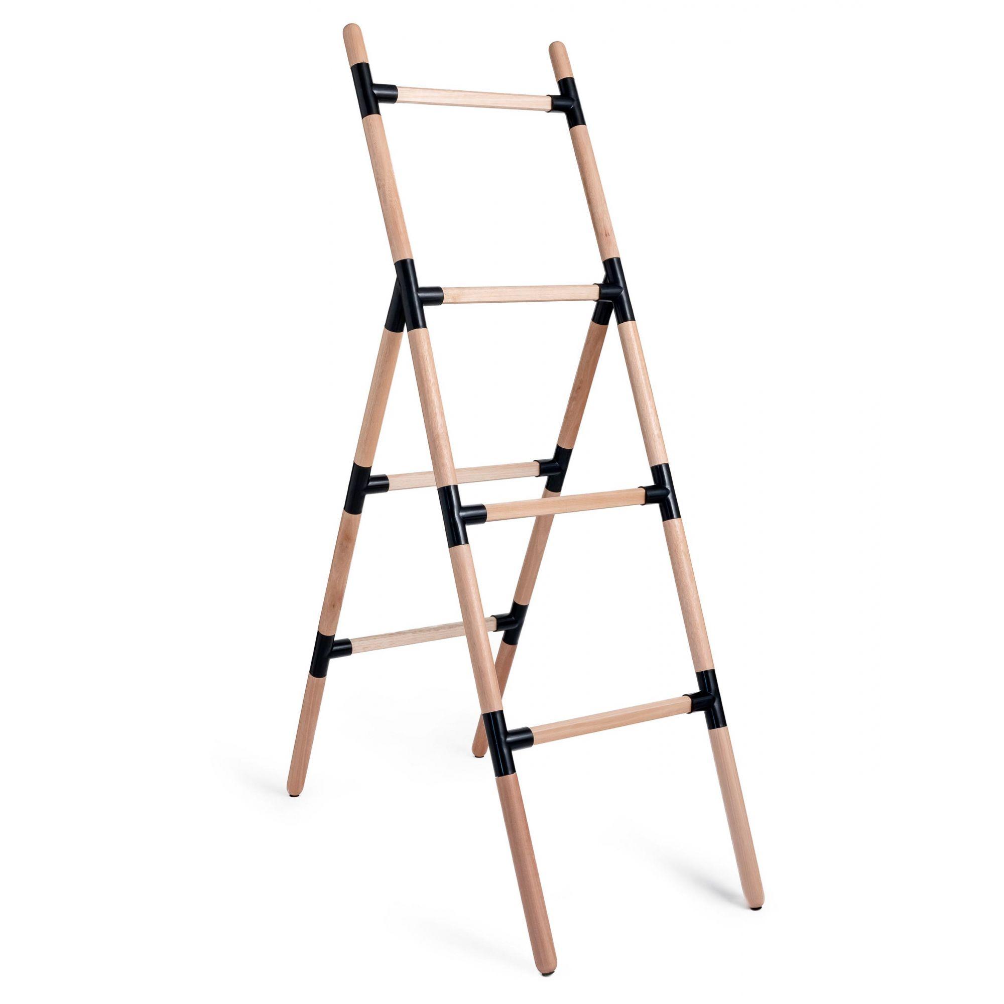 Suporte Escada Eleve Raiz 4 Níveis Preto