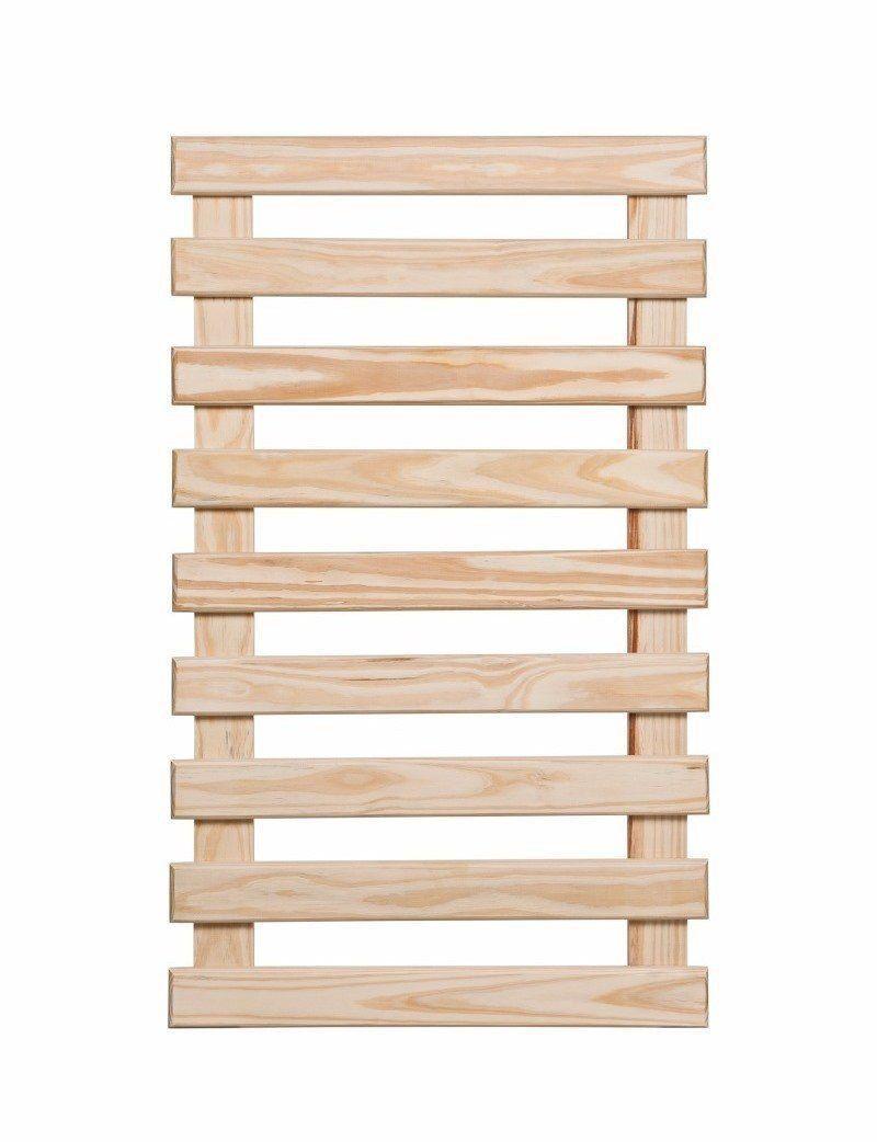 Treliça de Madeira 60cm x 100cm para Jardim Vertical  - Vasos Raiz Loja Oficial