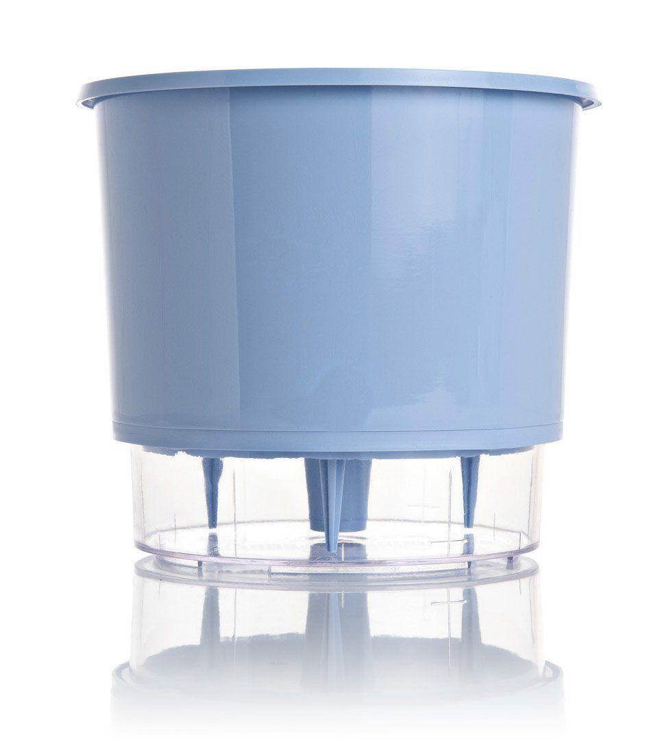 Vaso Autoirrigável Médio 16cm x 14cm Azul Serenity Wishes