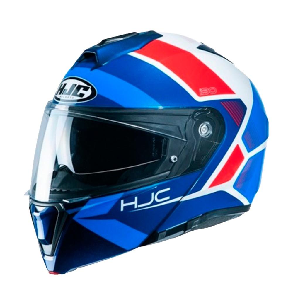 Capacete Hjc I90 Hollen Azul 58