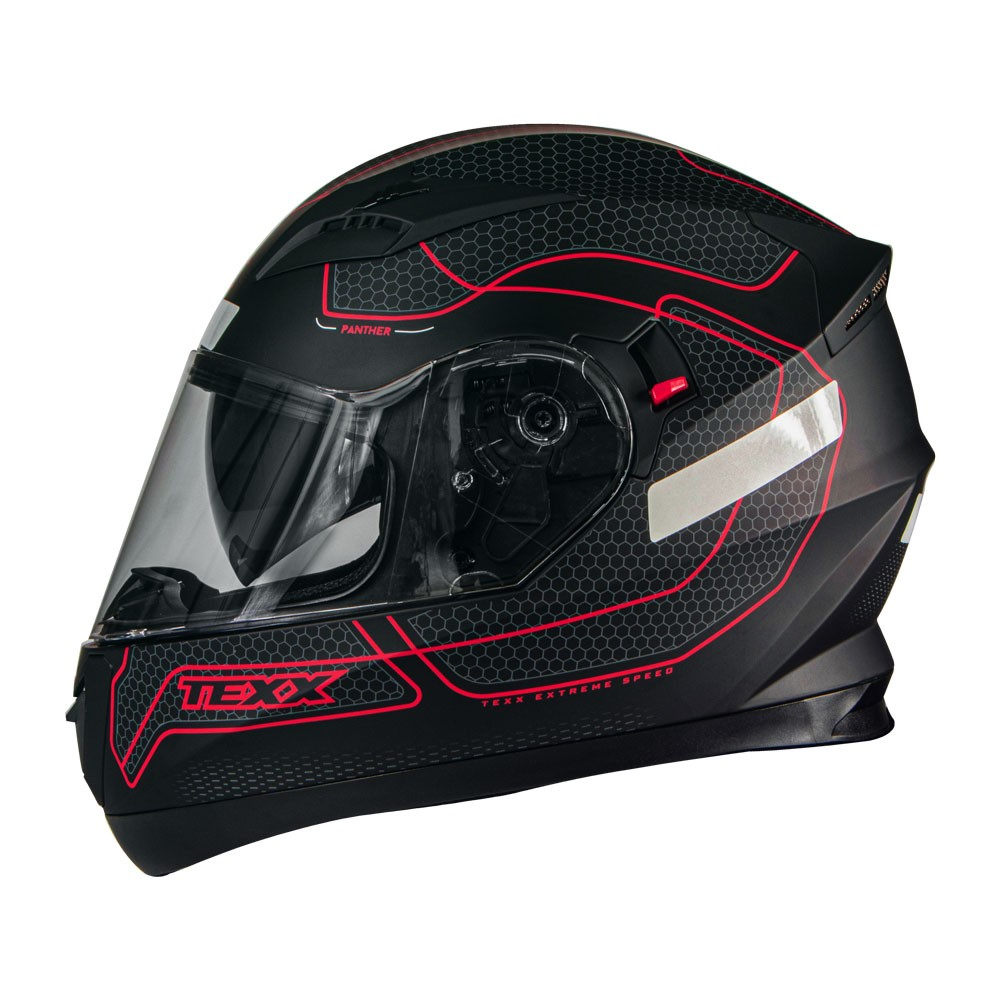 Capacete Texx G2 Panther Vermelho 58