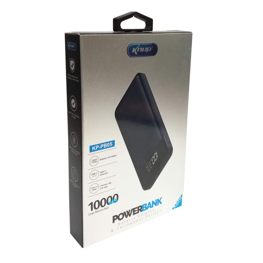 Carregador Portatil Power Bank 10000mah Original Bateria Externa