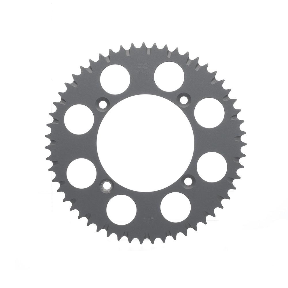 Coroa Aluminio Afam Cor Titanio Hon (+55D) -Cr 85R Crf150R P