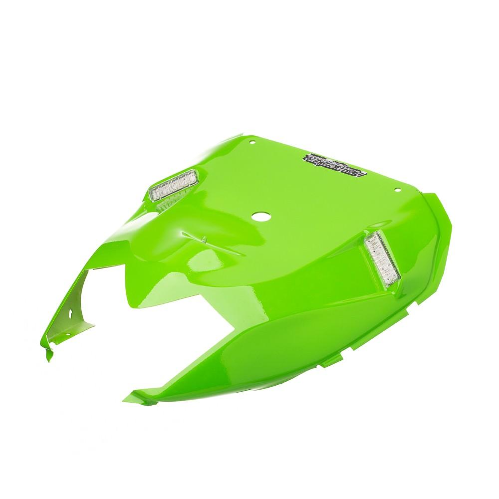 Eliminador Rabeta Hotbodies C Led Ninja Zx-10R 08-10 Verde