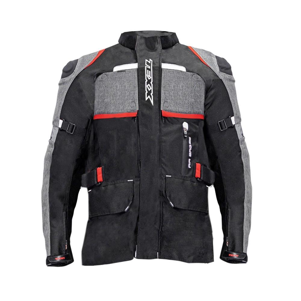Jaqueta Texx Armor Masculina Airbag Edition Vermelha 2Xl