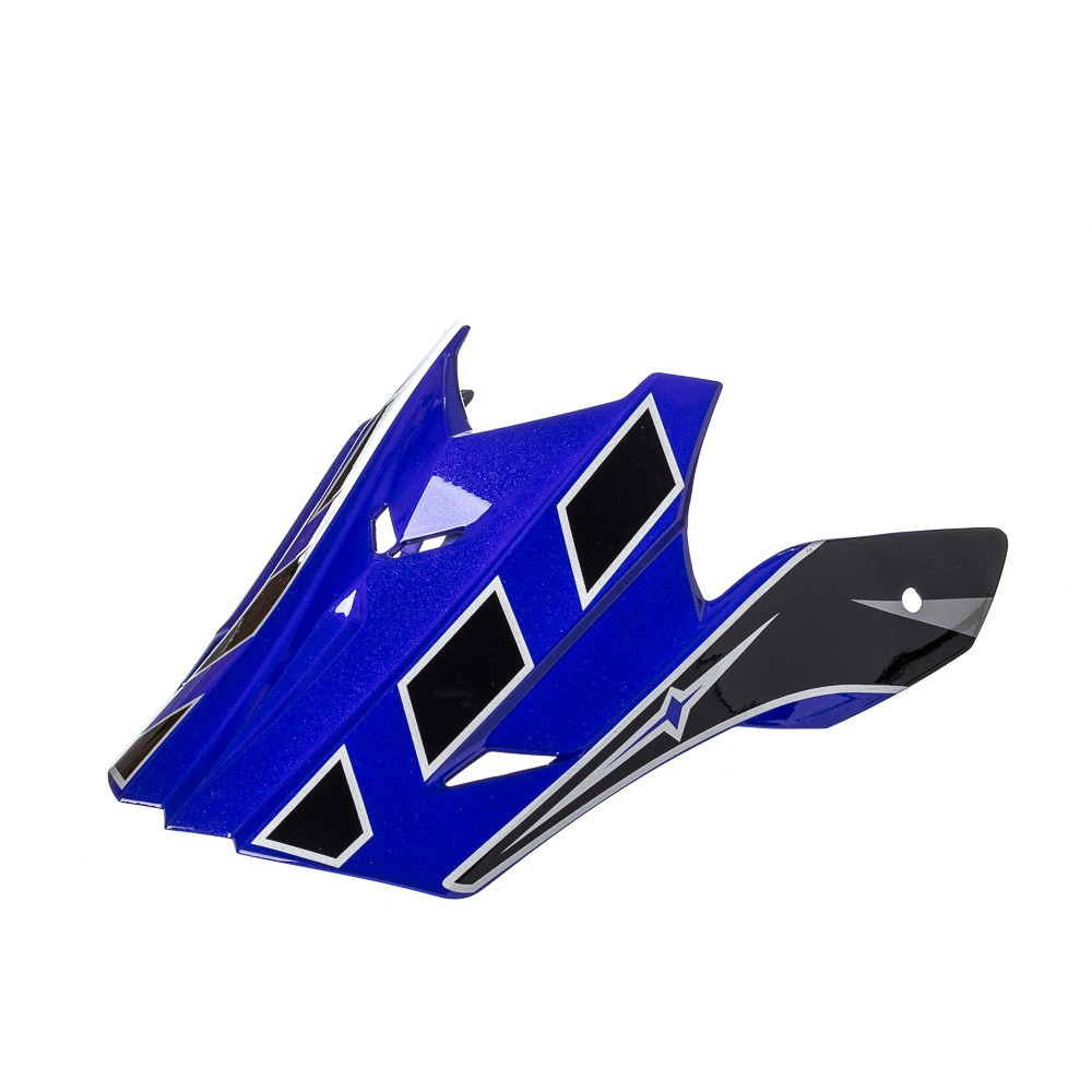 Pala Texx Mod Speed Mud Preto Com Azul Metalico