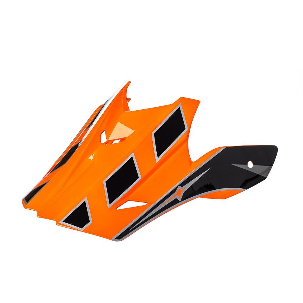 Pala Texx Mod Speed Mud Preto Com Laranja Metalico