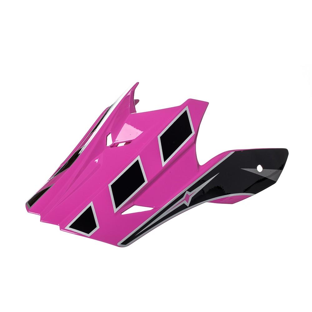 Pala Texx Mod Speed Mud Preto Com Rosa Metalico
