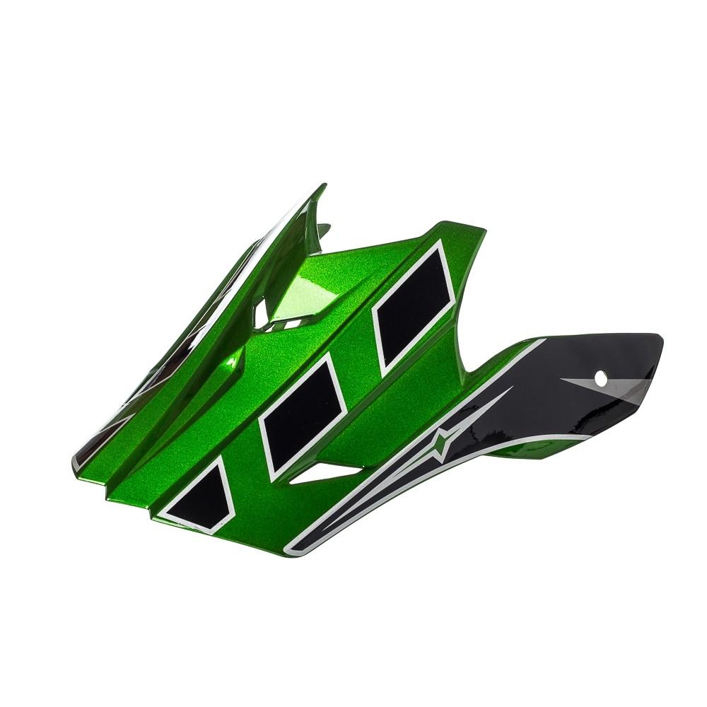 Pala Texx Mod Speed Mud Preto Com Verde Metalico