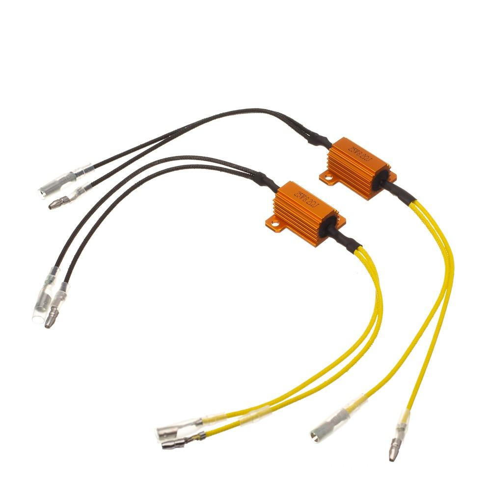 Resistor Para Instalar Piscas Com Leds(Par) 8,2Ohm Bering