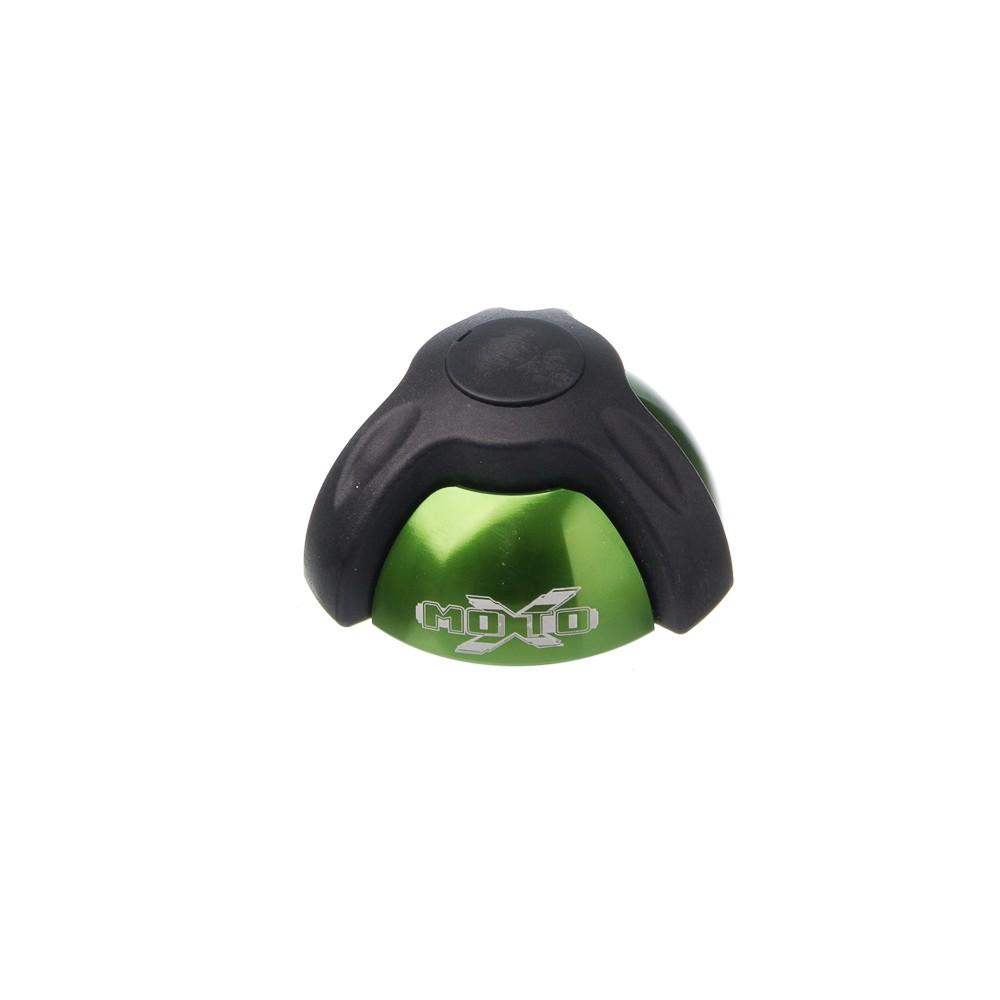Slider Universal - Batente Em Aluminio Moto X 1 Peca Verde